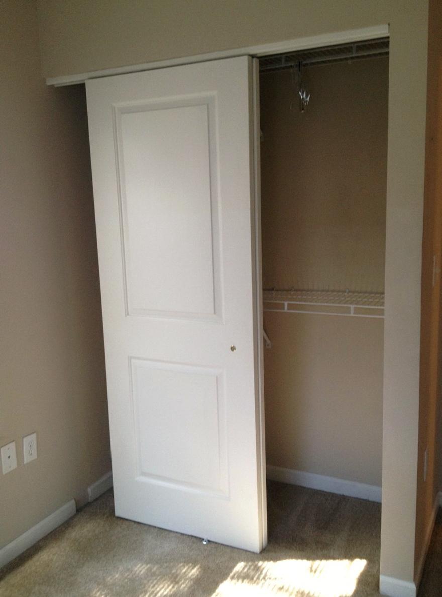 Small Closet Door Solutions