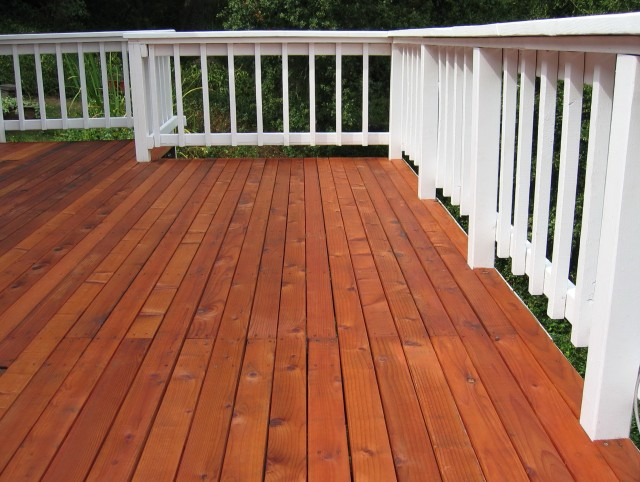 Solid Deck Stain Over Paint