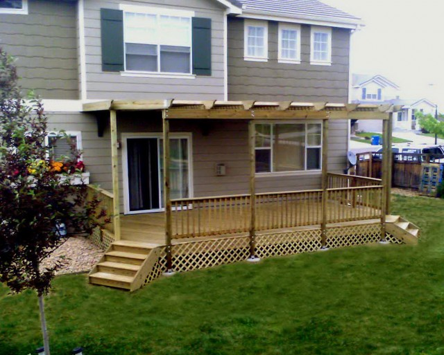 Timber Deck Roofing Ideas