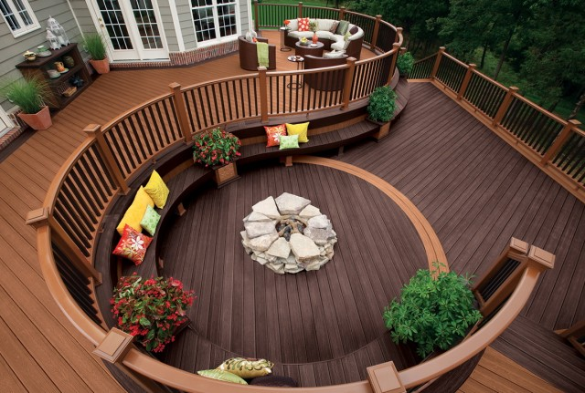 Trex Deck Design Photos