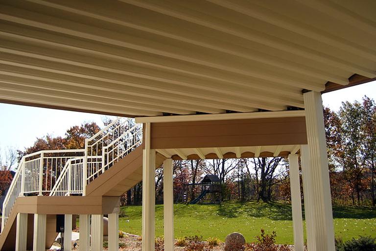 Under Deck Roof Ideas