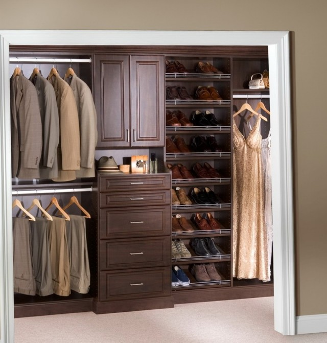Wood Closet Shelving Ideas