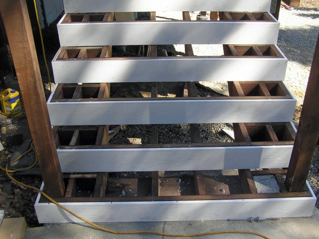 Attaching Deck To Concrete Block
