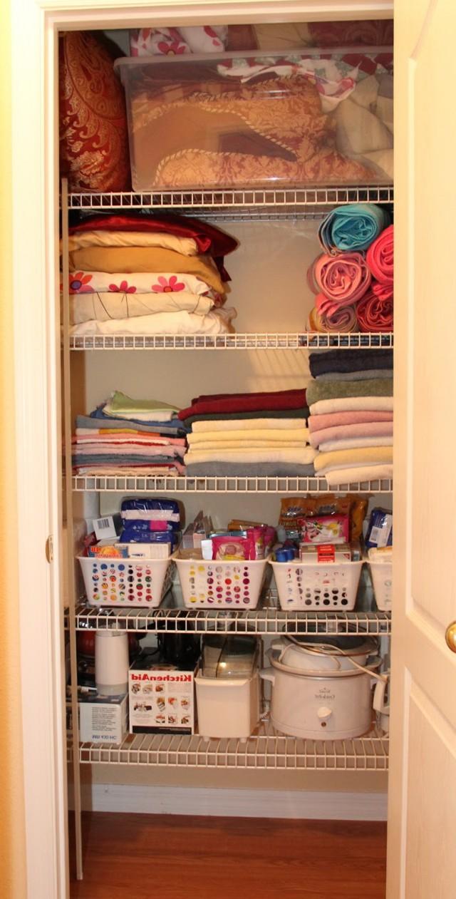 Bathroom Closet Organization Pinterest