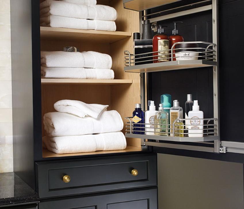 Bathroom Closet Storage Ideas