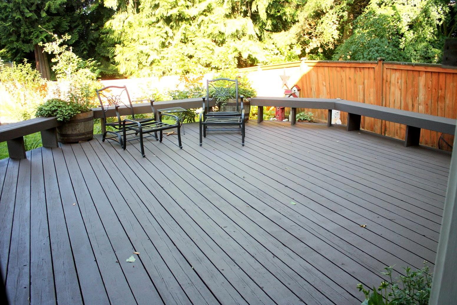 Behr Deck Over Slate Gray
