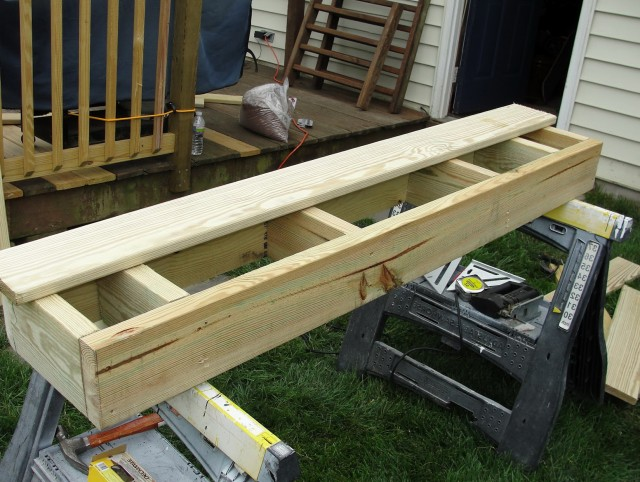 Building Box Steps For A Deck