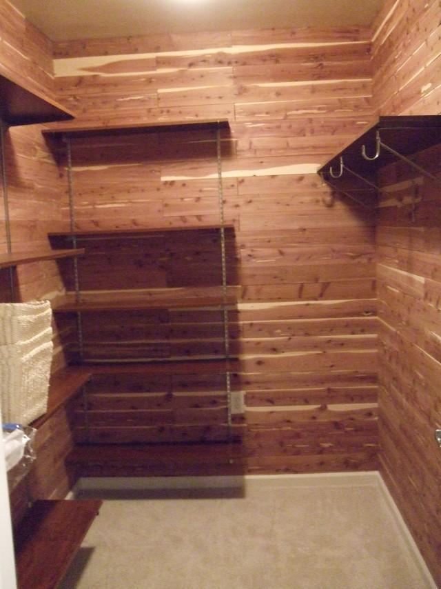 Cedar Flooring For Closets