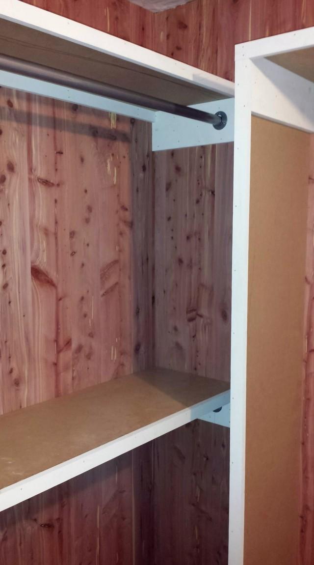Cedar Paneling For Closets
