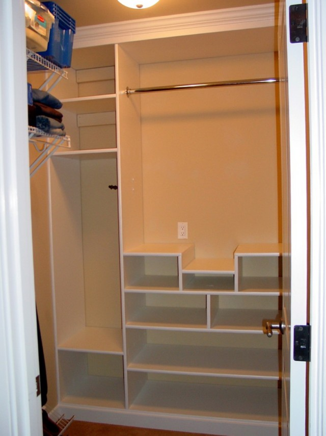 Closet Built Ins Plans
