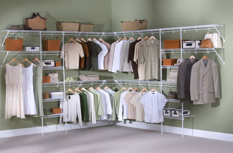 Closet Wire Shelving Systems