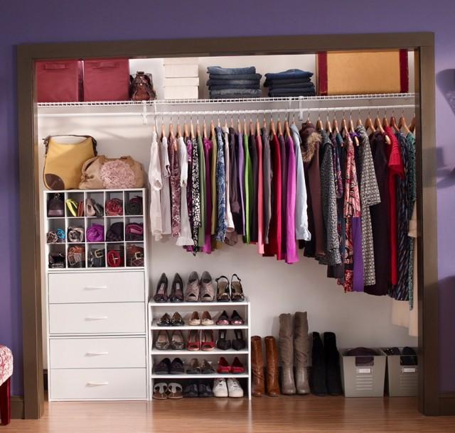 Closetmaid Selectives 25 In. White Custom Closet Organizer