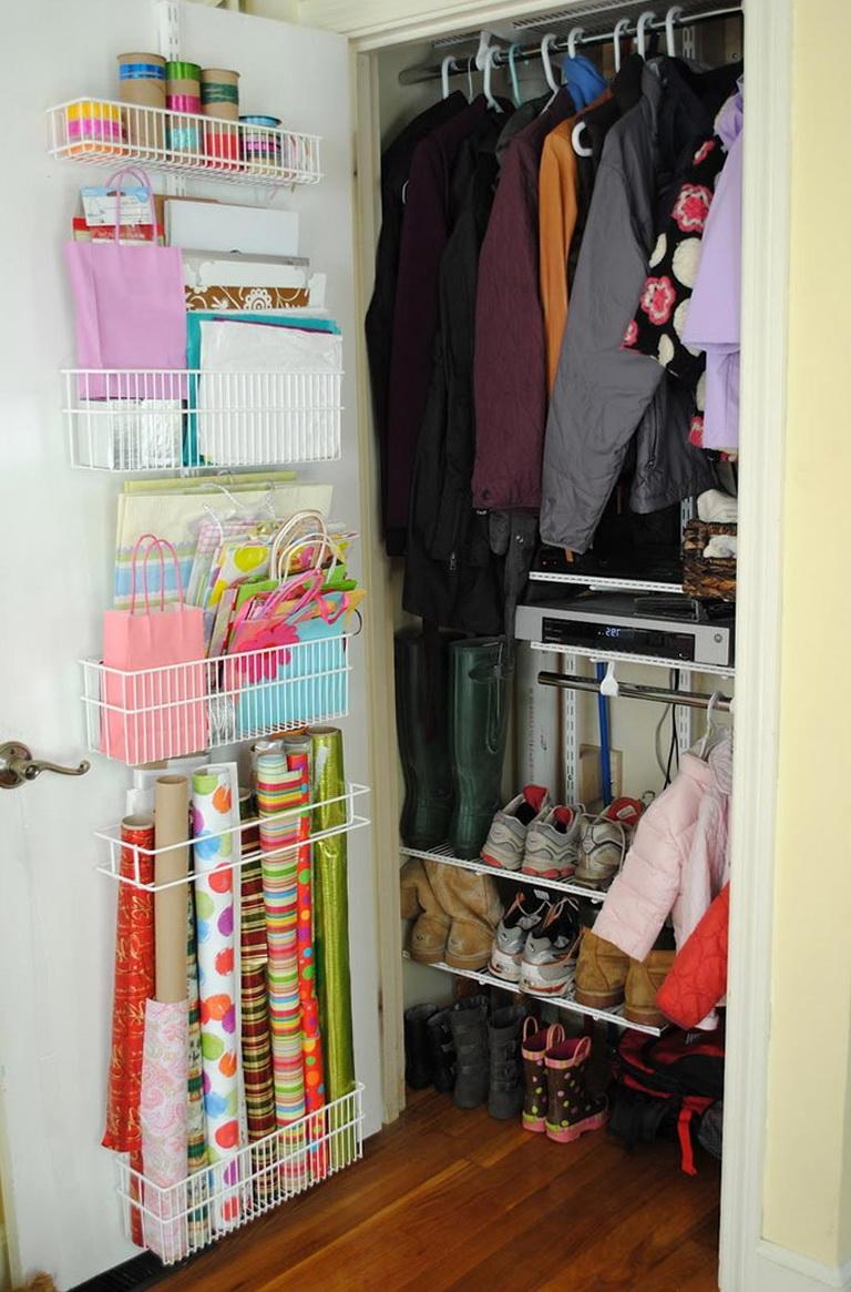 Coat Closet Organization Pinterest