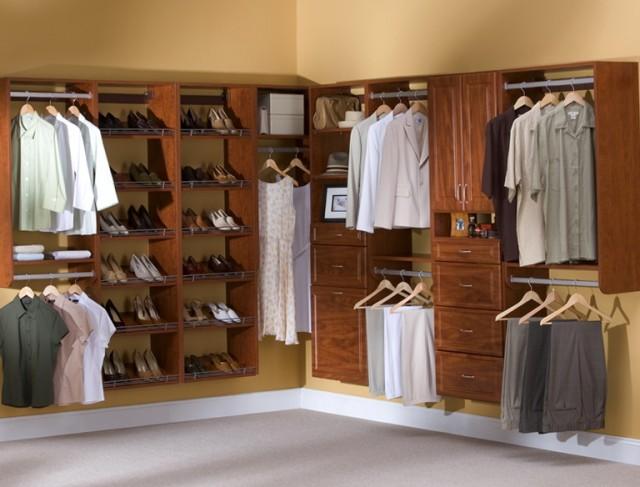 Corner Closet Organizer System