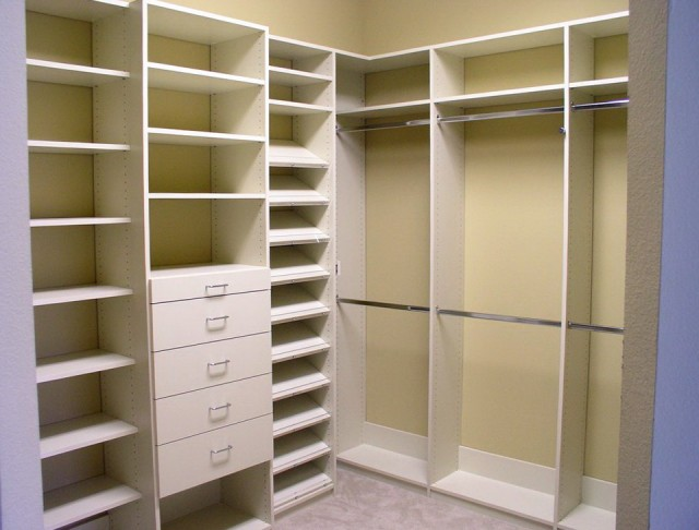 Corner Closet Shelves Home Depot