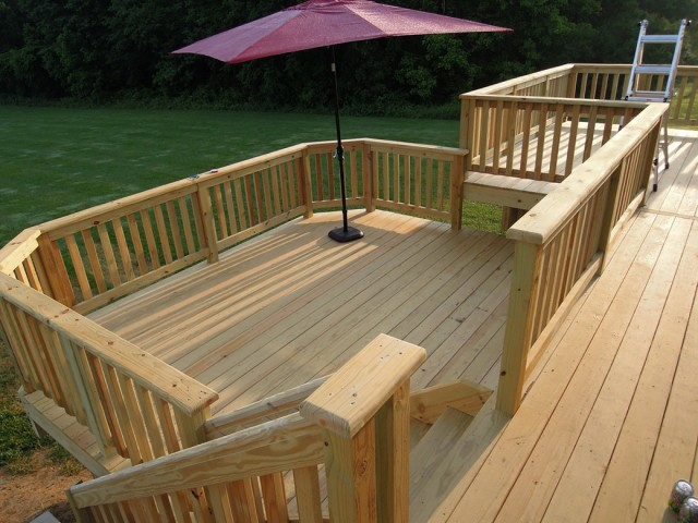 Deck Board Spacing Pressure Treated