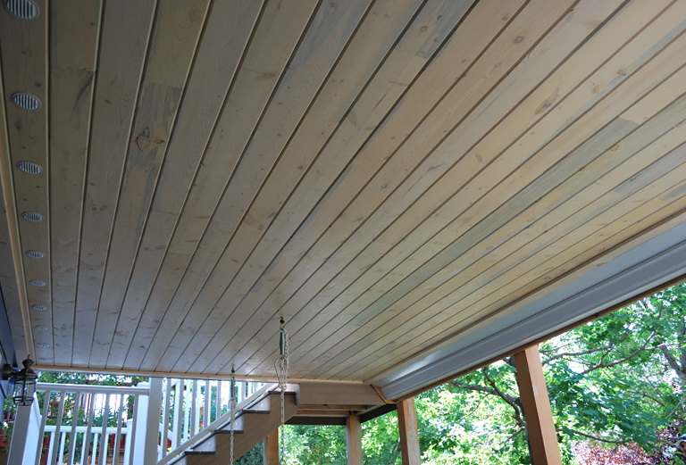 Deck Gutter Drainage System