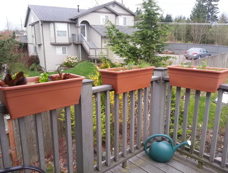 Deck Rail Planters Walmart