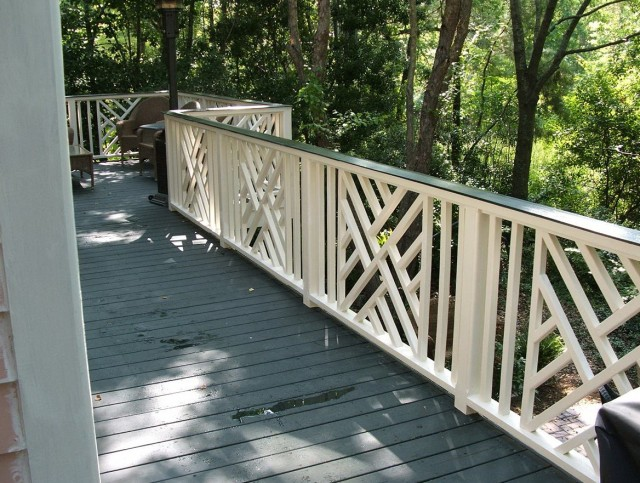 Deck Railing Balusters Spacing