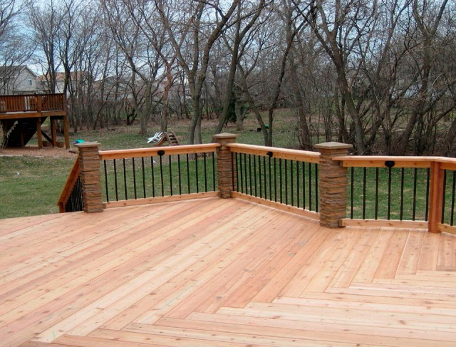 Deck Railing Post Height