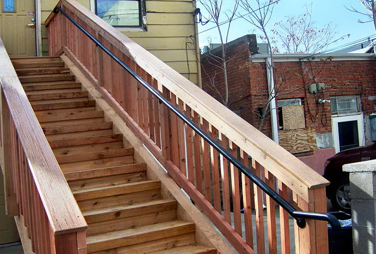 Deck Stair Railing Height