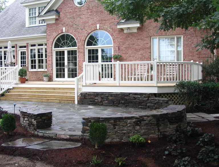 Decking Or Stone Patio