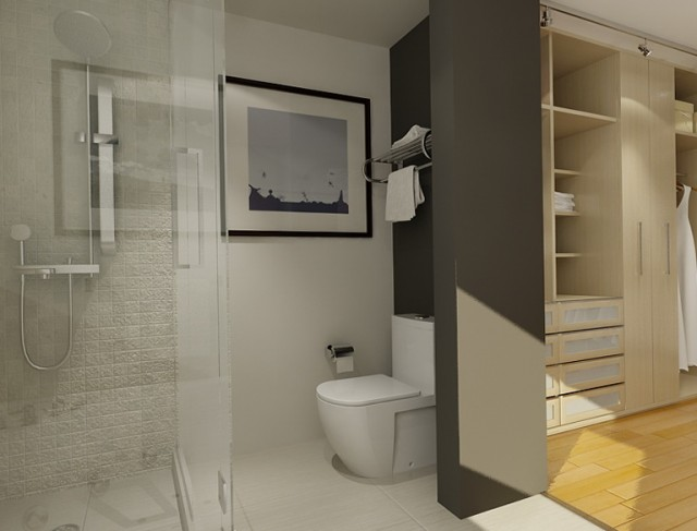 Ensuite Bathroom Walk In Closet Plans