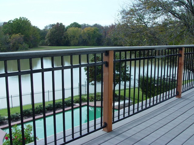 Metal Railings For Decks Home Depot