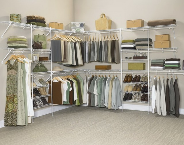 Metal Shelving For Closets