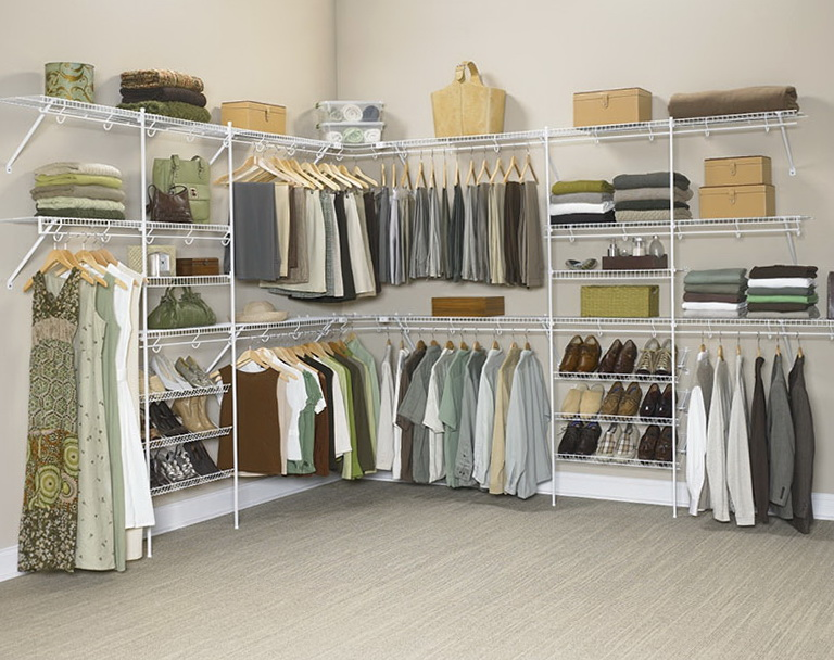 Metal Shelving For Closets