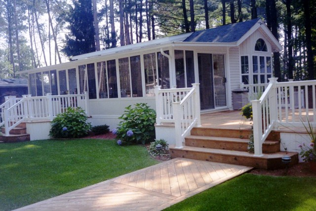 Mobile Home Deck Designs Pictures