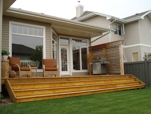 Mobile Home Decking Ideas