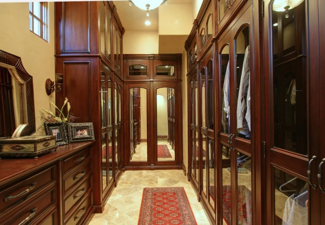 Narrow Master Closet Ideas