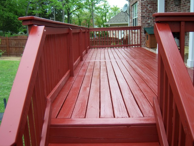 Oil Based Deck Stain And Rain