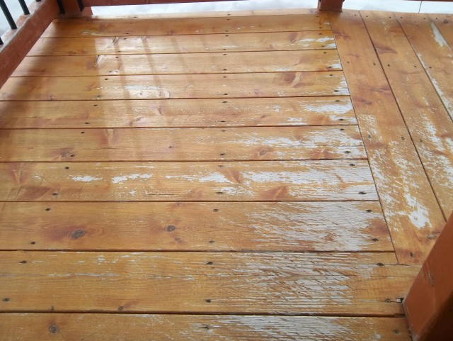 Oil Based Deck Stain Over Latex