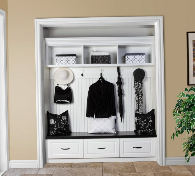 Open Coat Closet Ideas