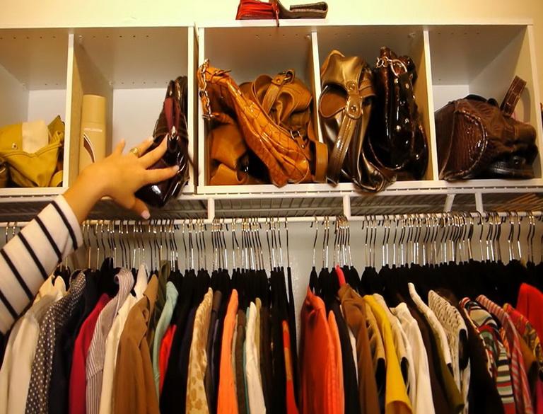 Organizing A Small Walk In Closet
