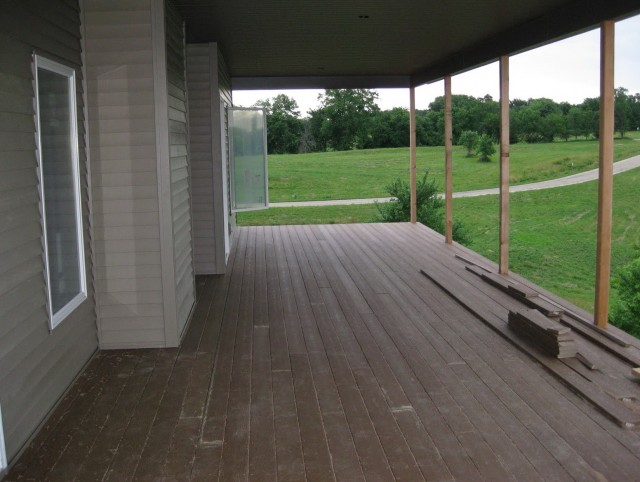 Painting A Deck Floor