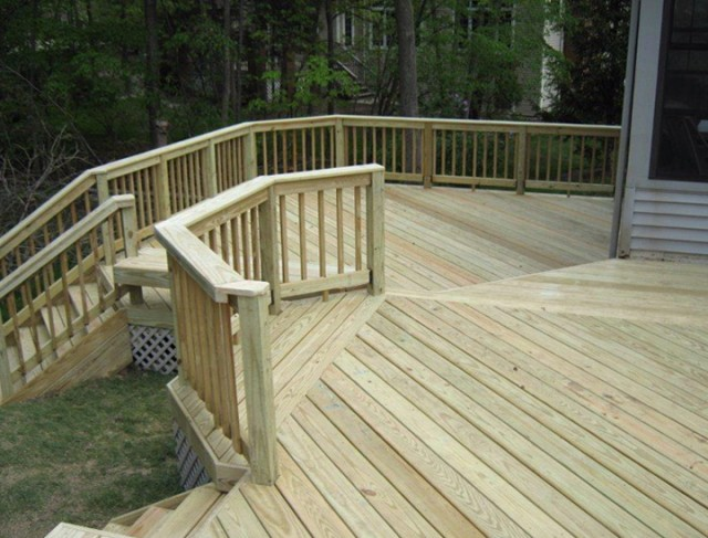 Pressure Treated Deck Boards