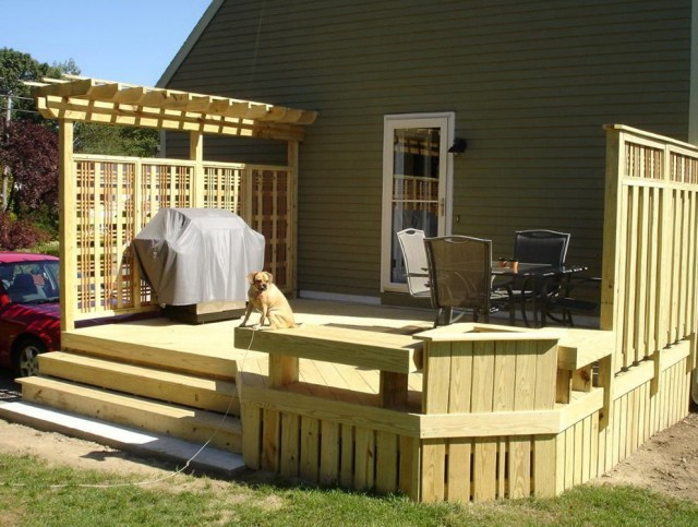 Pressure Treated Deck Designs