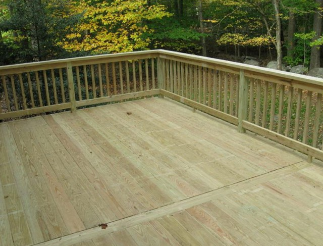 Pressure Treated Deck Railing Systems