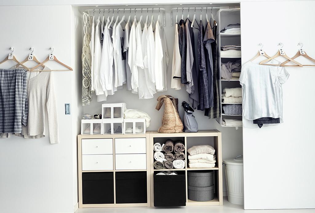 Reach In Closet Organizer Ikea