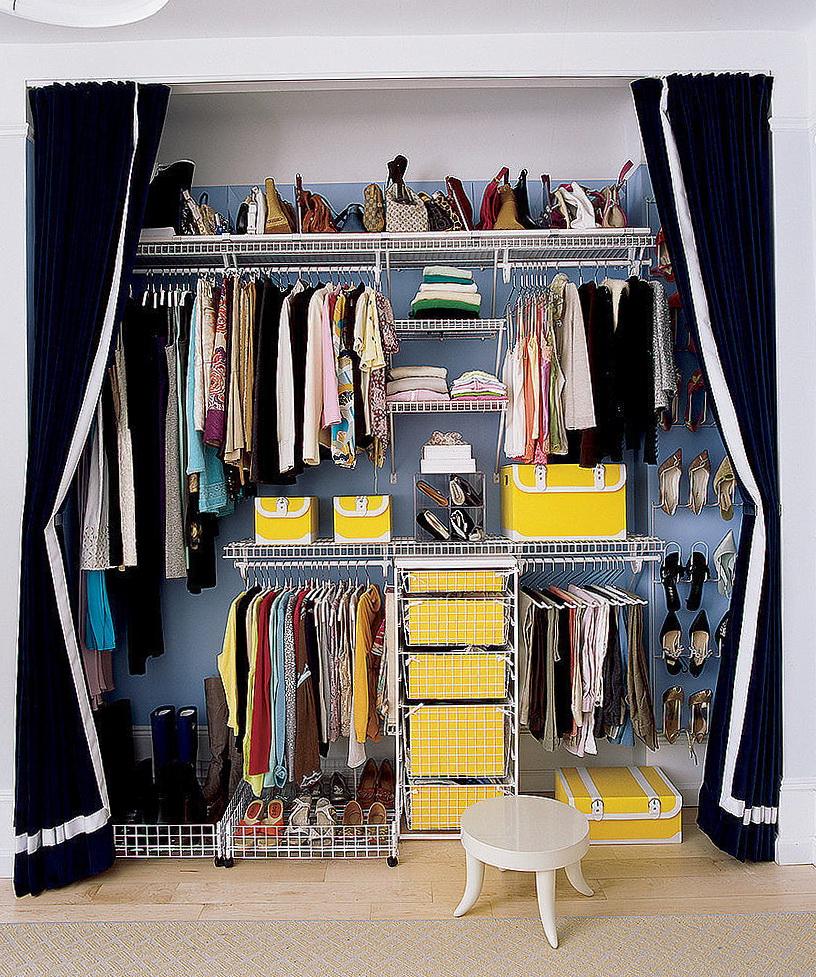 Small Open Closet Ideas