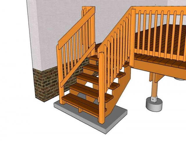 Standard Deck Railing Height