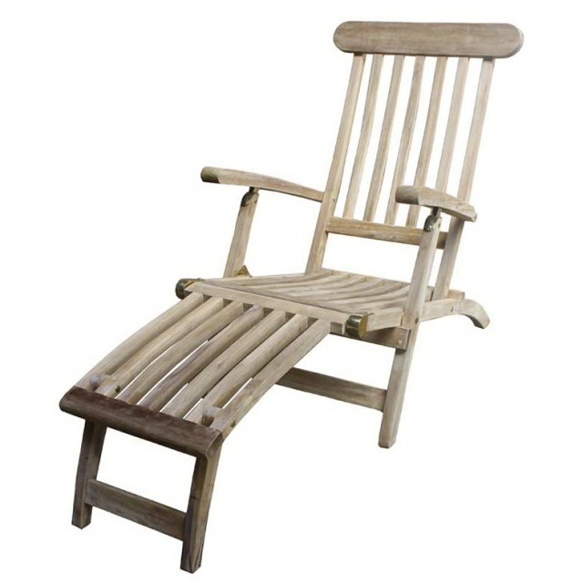 Teak Deck Chairs For Sale