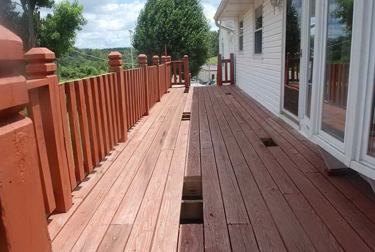 The Best Deck Stain Remover
