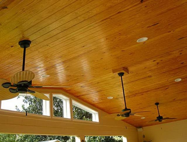 Under Deck Ceiling Materials