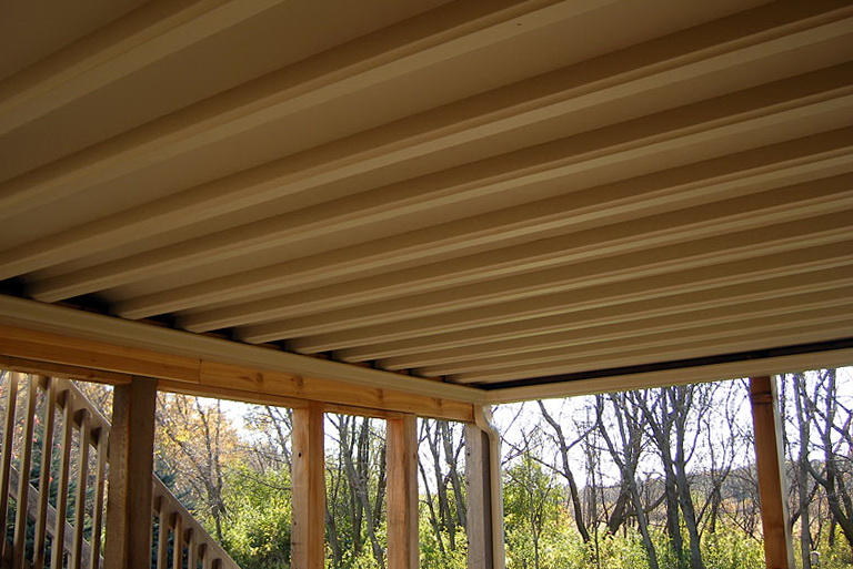 Under Deck Gutter System Diy