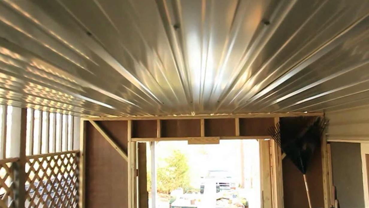 Under Deck Roofing Diy