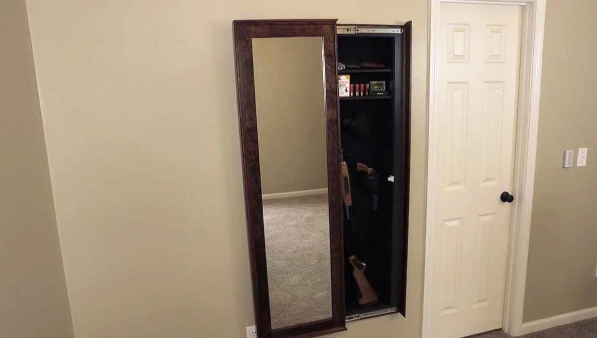 Walk In Closet Gun Safe